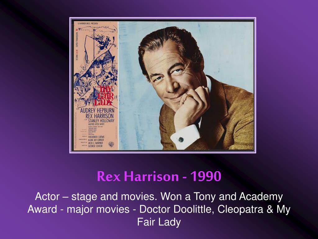 Rex Harrison - 1990