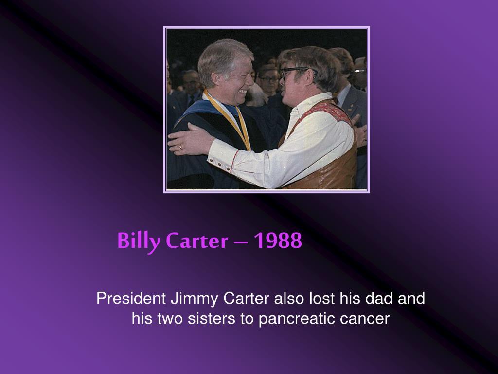Billy Carter – 1988