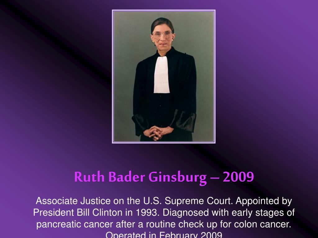 Ruth Bader Ginsburg – 2009