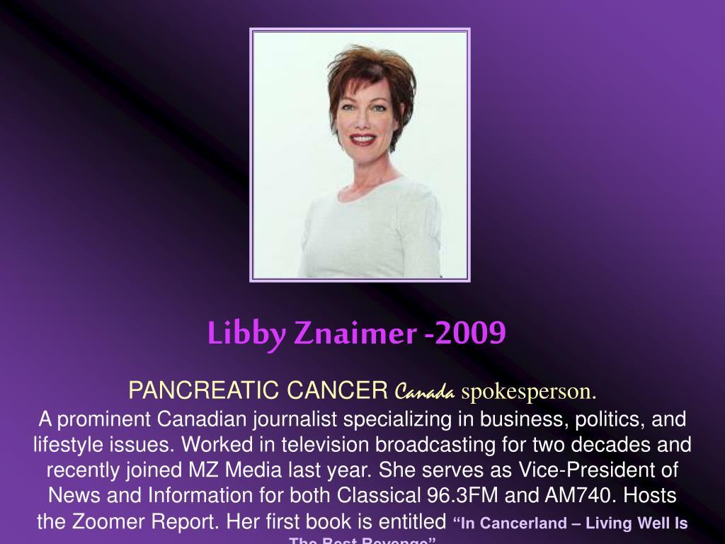 Libby Znaimer -2009