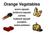 orange vegetables31