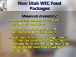 new utah wic food packages11