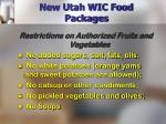 new utah wic food packages13