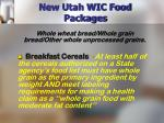 new utah wic food packages16