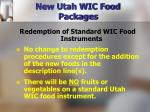 new utah wic food packages20