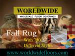fall rug