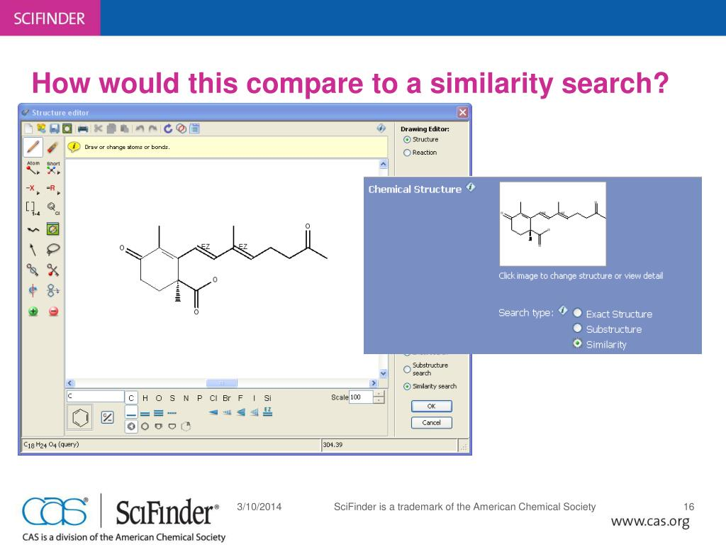 How would this compare to a similarity search?