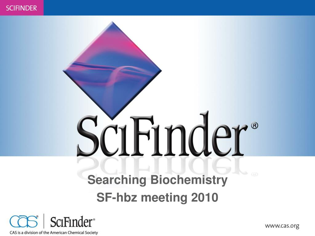 searching biochemistry sf hbz meeting 2010 l.