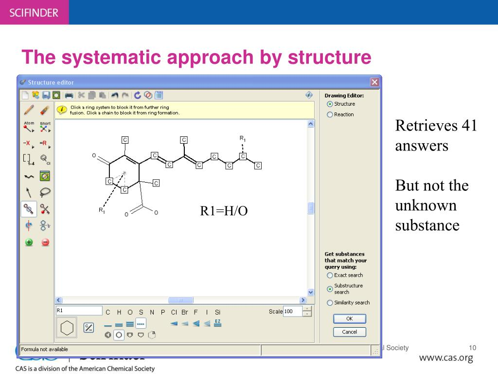 The systematic approach by structure
