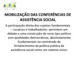 mobiliza o das confer ncias de assist ncia social3