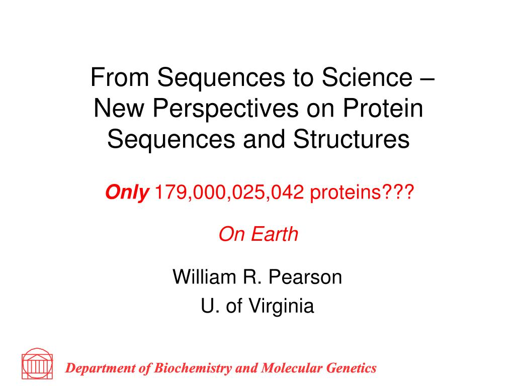 from sequences to science new perspectives on protein sequences and structures