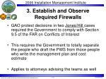 3 establish and observe required firewalls