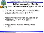 9 non appropriated funds instrumentalities nafs are different