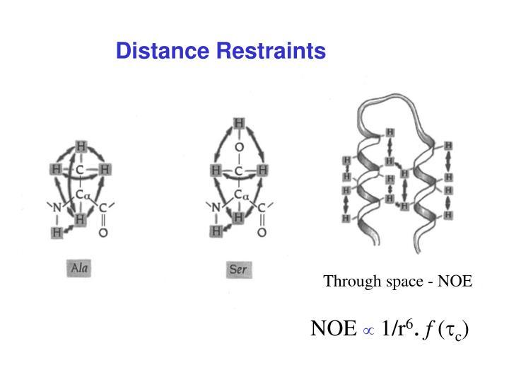 Distance Restraints