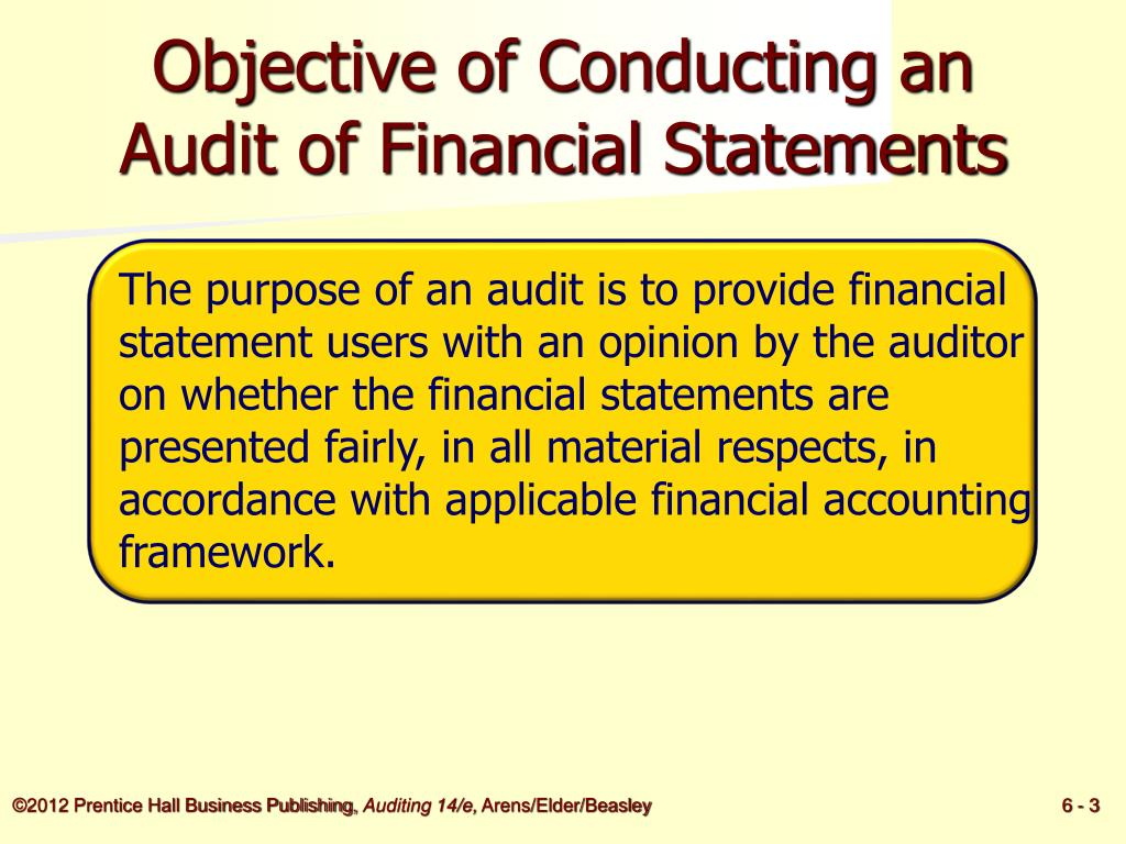 PPT - Audit Responsibilities and Objectives PowerPoint