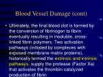 blood vessel damage cont11
