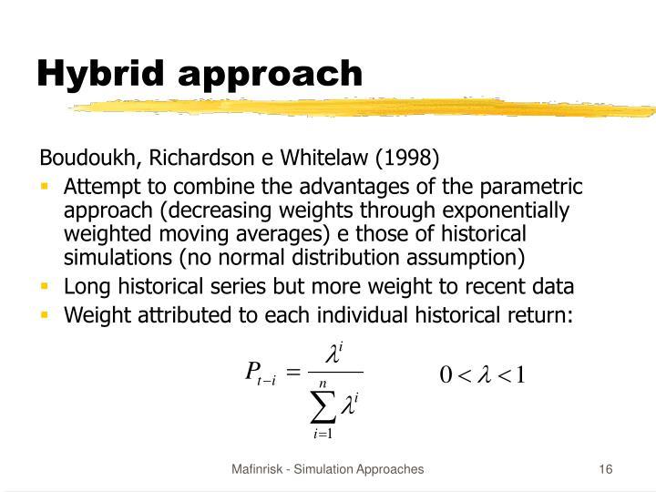 Hybrid approach