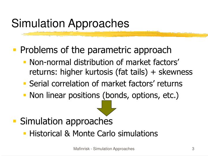 Simulation approaches