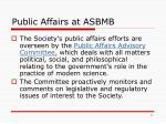 public affairs at asbmb