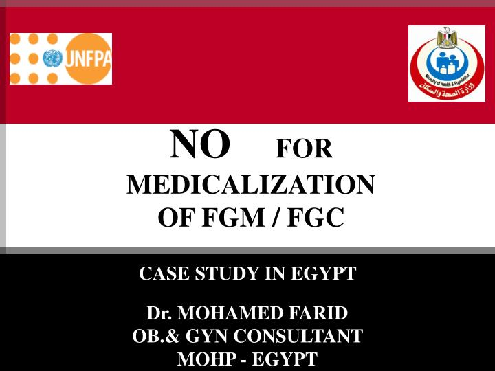 no for medicalization of fgm fgc n.
