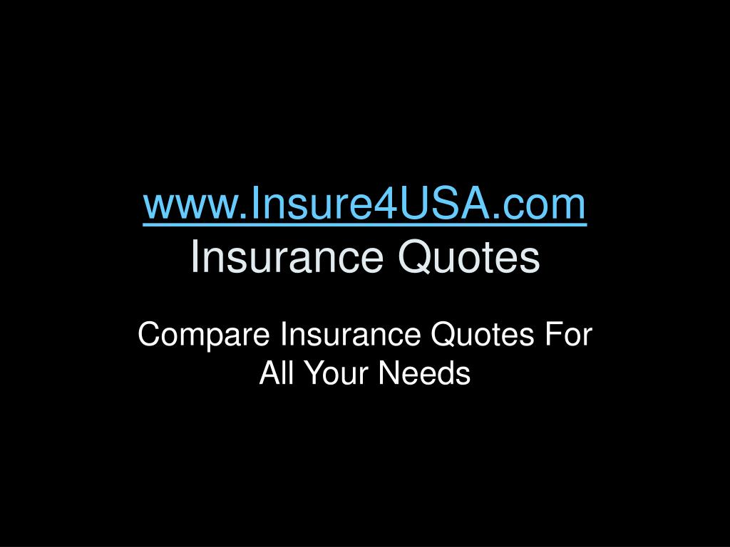 www insure4usa com insurance quotes l.