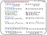 gate logic laws of boolean algebra cont