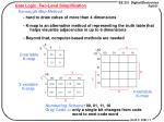 gate logic two level simplification1