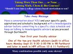 taking more than one or none among math chem bio courses14