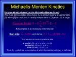 michaelis menten kinetics31