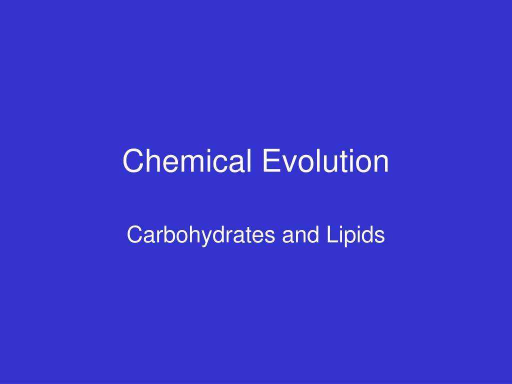 chemical evolution l.