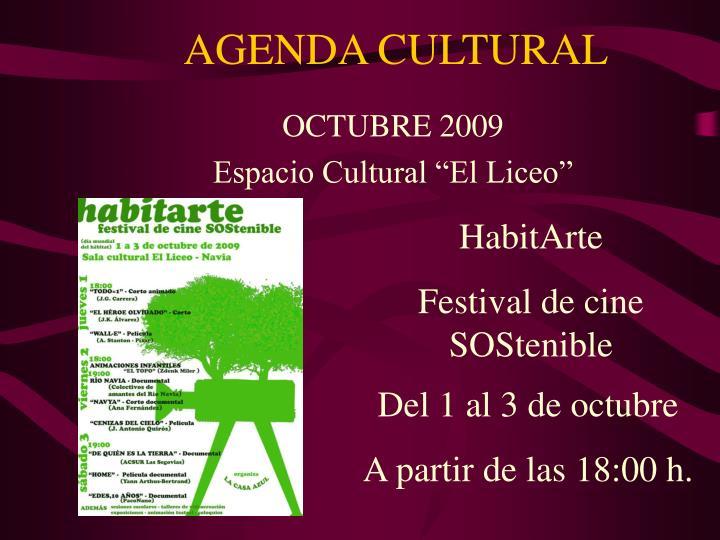 Agenda cultural1