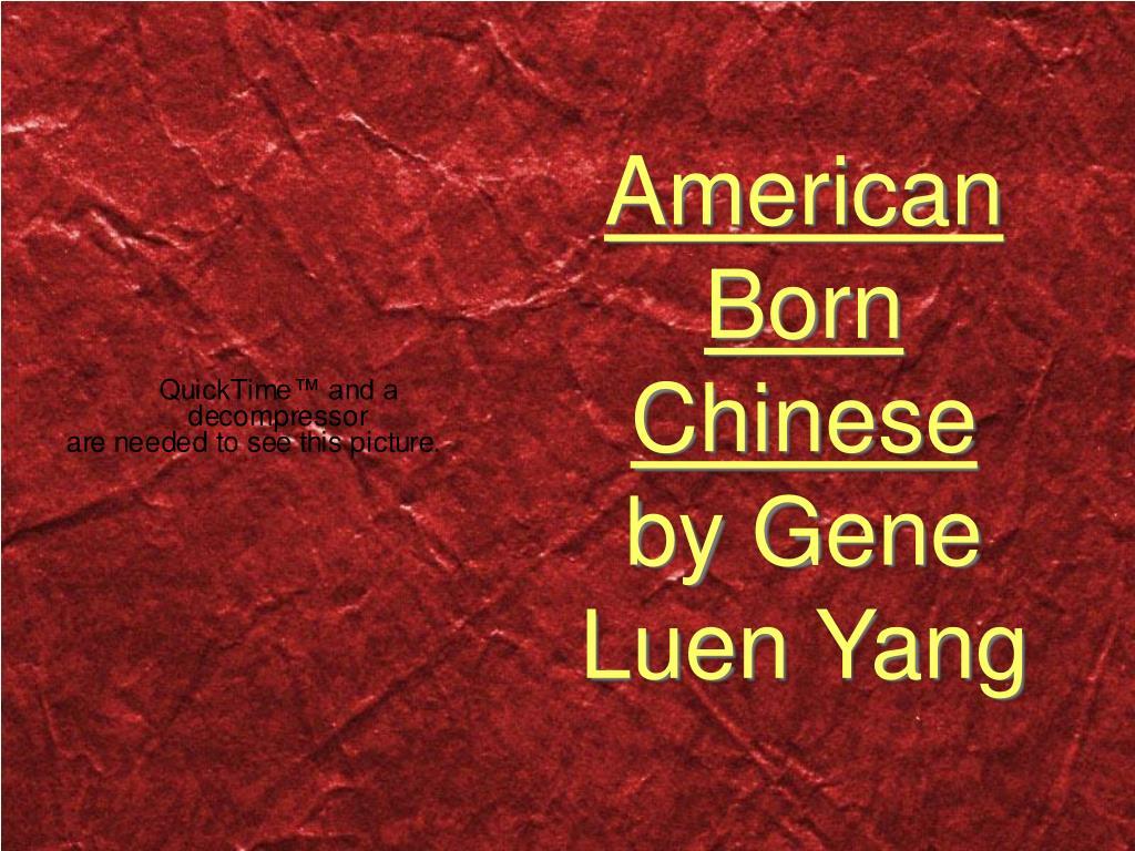american born chinese by gene yang