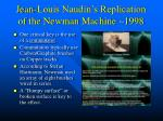 jean louis naudin s replication of the newman machine 1998