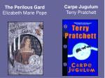 the perilous gard elizabeth marie pope