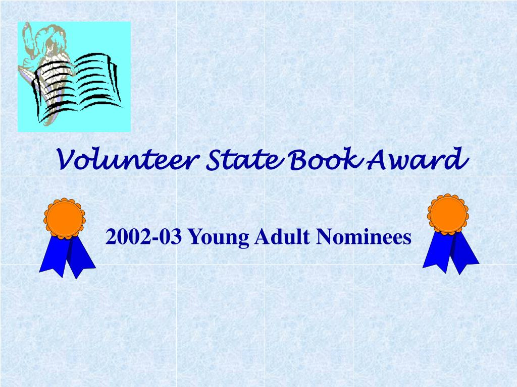 volunteer state book award l.