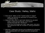 case study hailey idaho31