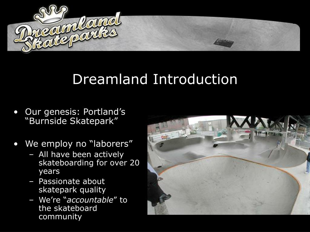 Dreamland Introduction