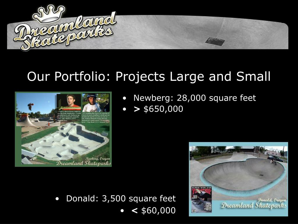 Our Portfolio: Projects Large and Small