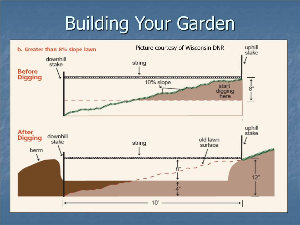 Building Your Garden