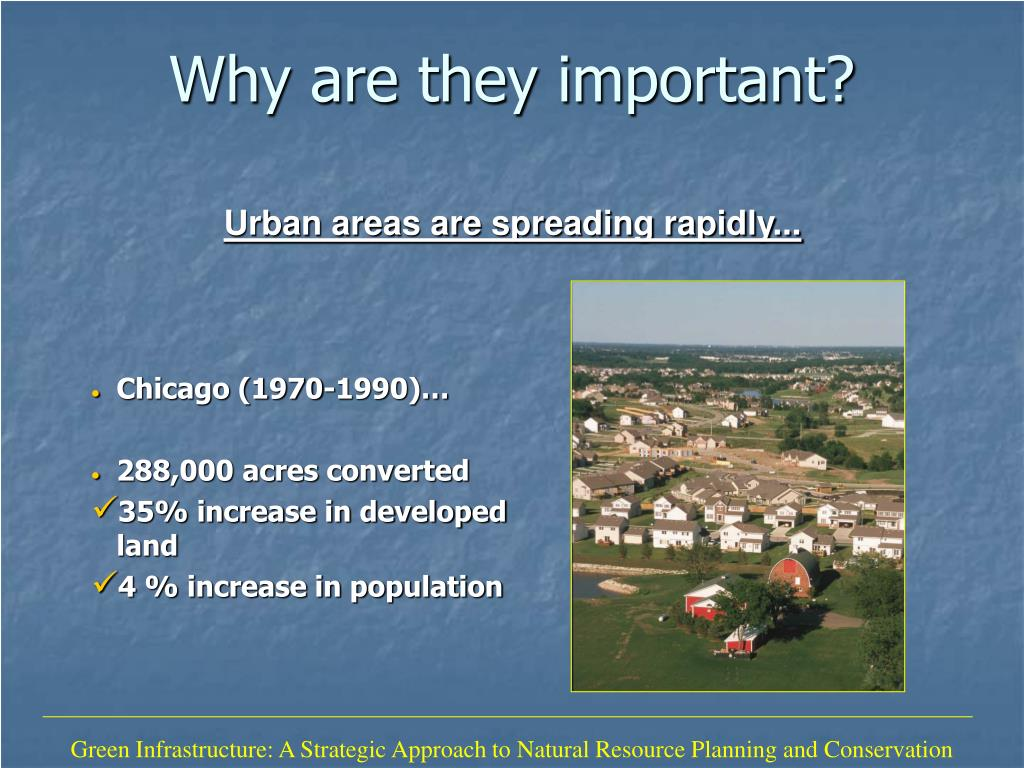Green Infrastructure: A Strategic Approach to Natural Resource Planning and Conservation