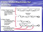 finite state machines for walking71