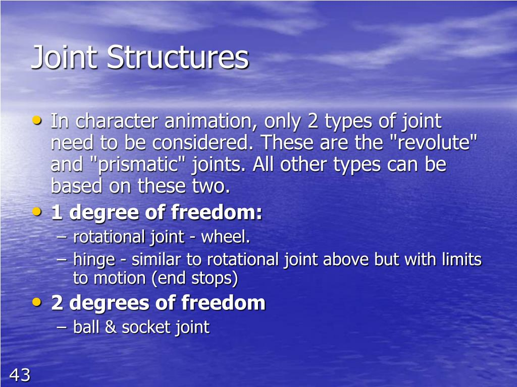 Joint Structures