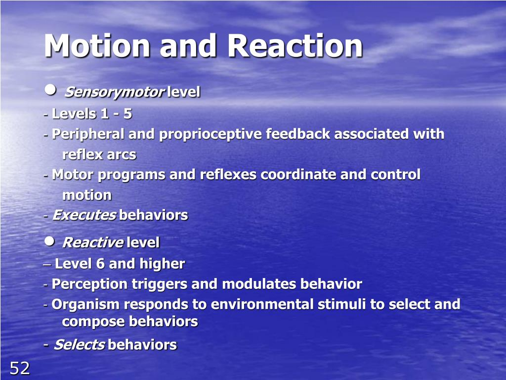 Motion and Reaction