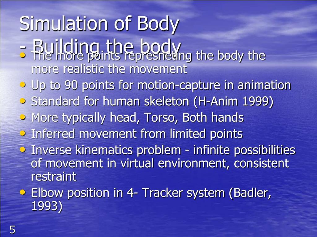 Simulation of Body
