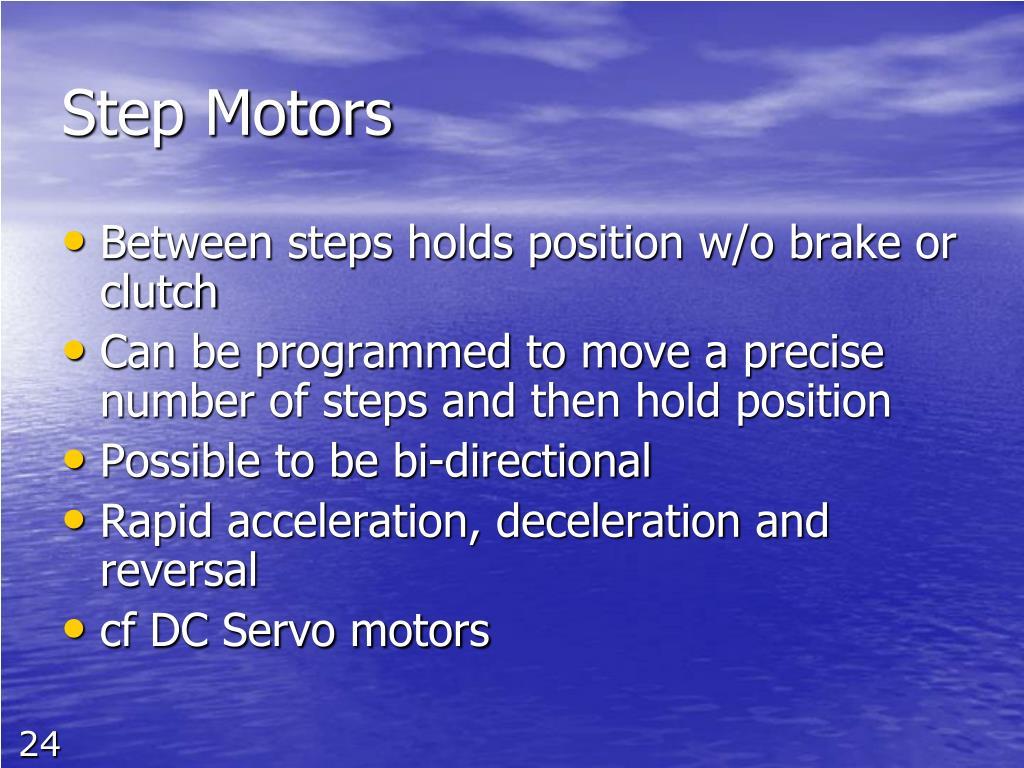 Step Motors