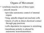 organs of movement7