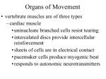 organs of movement9