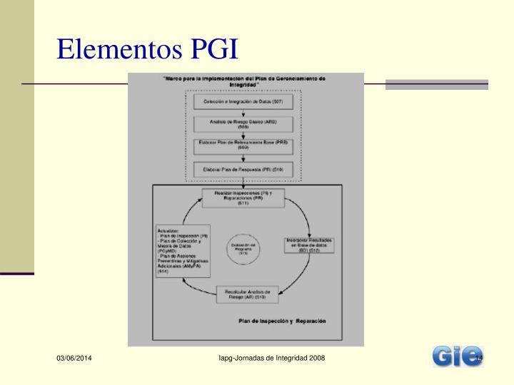 Elementos PGI
