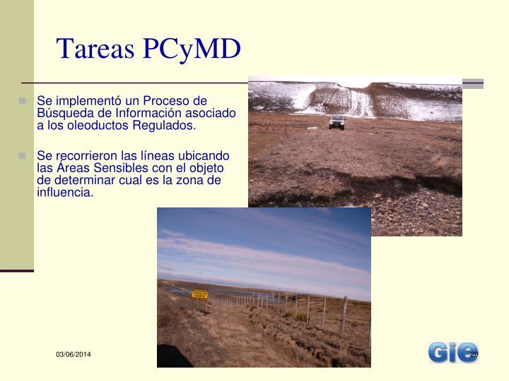 Tareas PCyMD