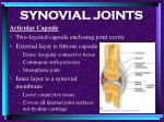 synovial joints73